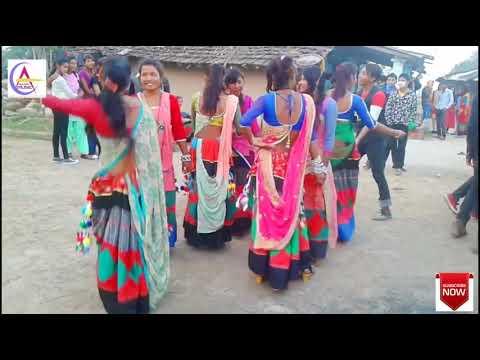 Ladki Patale Babuwa Dj Song  New Tharu  Girl Dance 2018   Laksh  Edited
