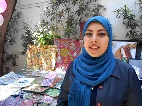 منتجات يدوية تزين فعالية Creative Egypt لطلاب إعلام القاهرة