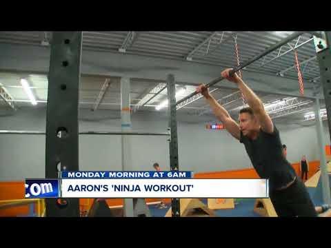 Aaron's ninja workout