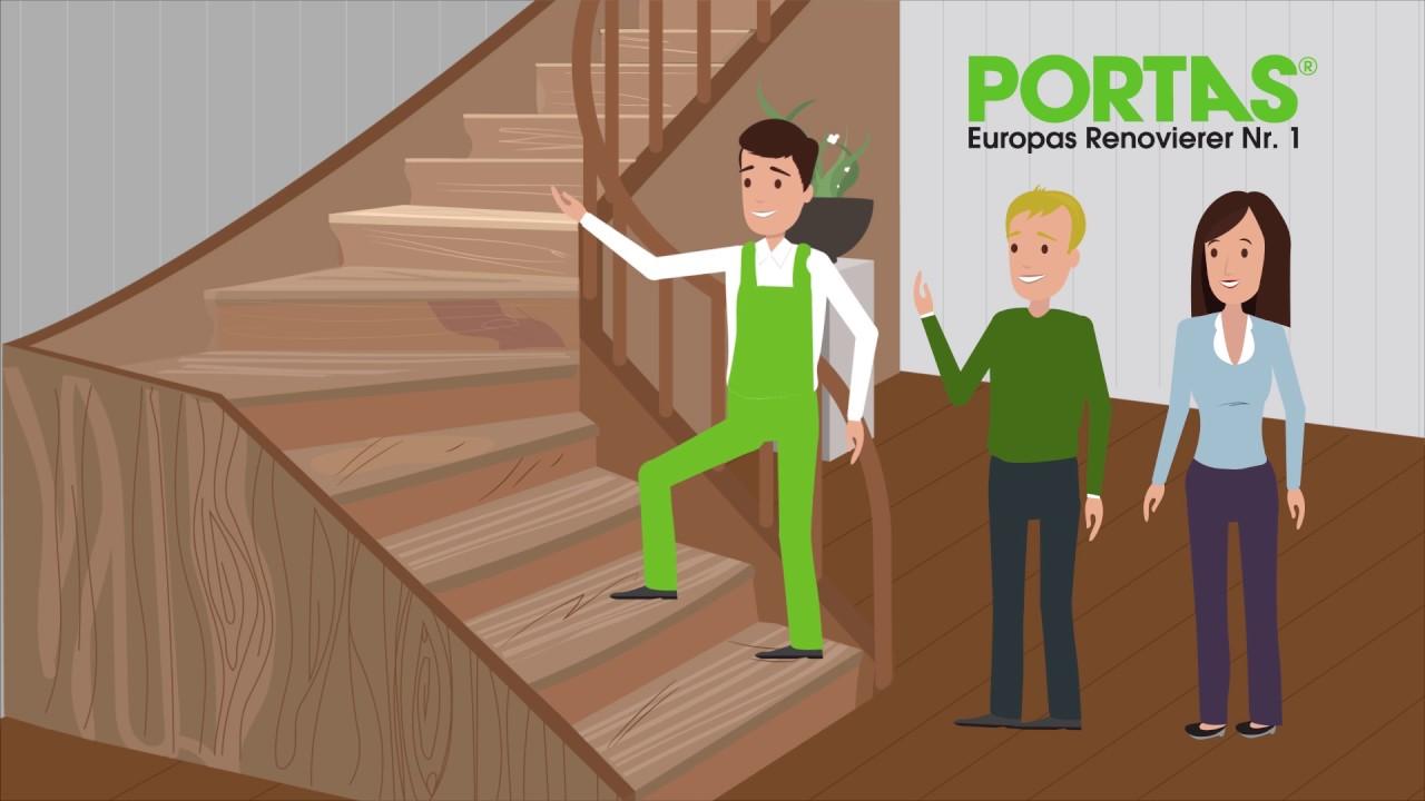 treppen clever renovieren - mit neuen treppenstufen nach maß - youtube