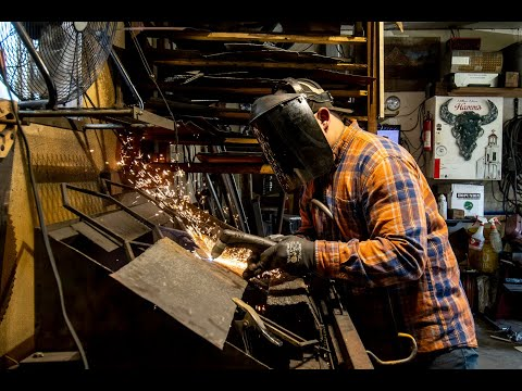 Joel Isaacs, blacksmith, talks creative beginnings