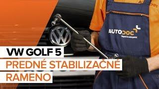 Demontáž Vzpera stabilizátora VW - video sprievodca