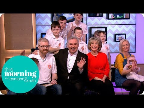 The Mum Who Gets Up at 5:30am to Take Care of Her TEN Sons! | This Morning