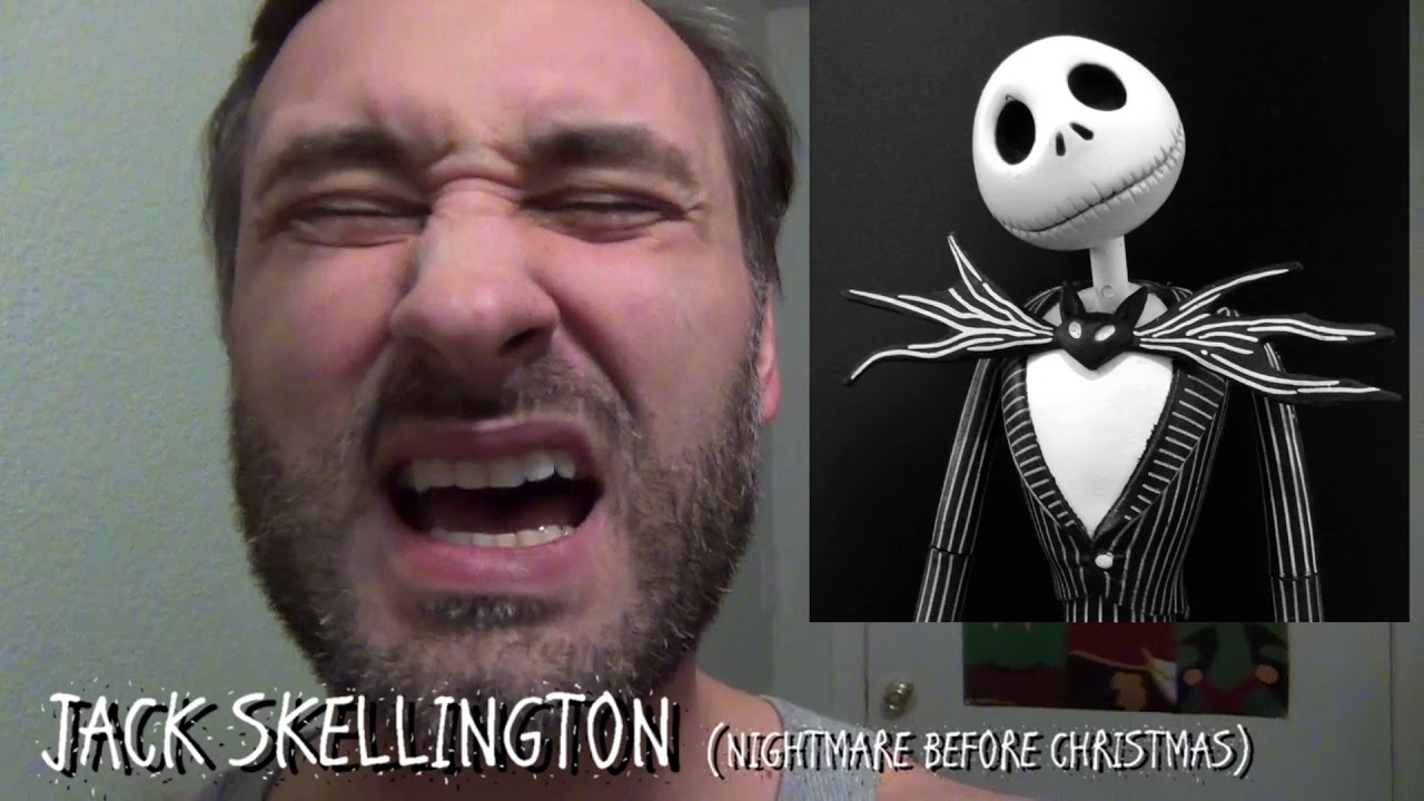 365 days of character voices jack skellington nightmare before christmas day 220 - Voice Of Jack Nightmare Before Christmas