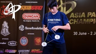 Hajime Miura (JP): 4A Division Finals - Asia Pacific Yo-yo Championships 2017