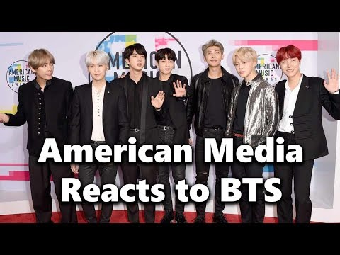 American Media Reacts To BTS' AMA Performance