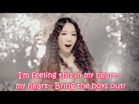 SNSD - The Boys (English Ver.) Lyrics