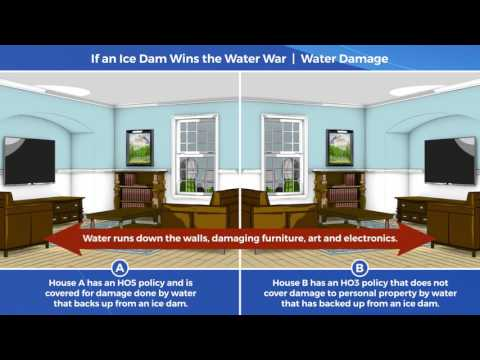Home Insurance Tip Video: When an Ice Dam Wins the Water War