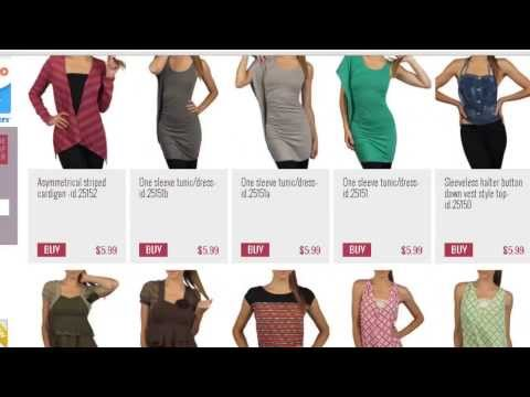 Affordable Online Shopping -Top 5  Sites For Clothing 15$ or LESS!