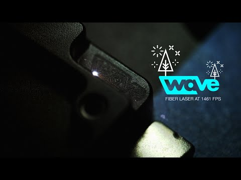 Wave - Fiber Laser at 422fps and 1441fps