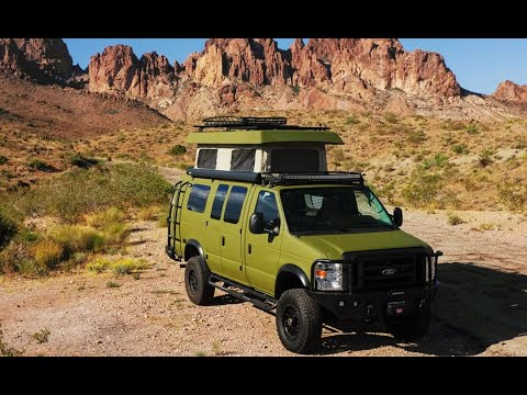 2020 Sportsmobile Classic 4x4 Camper Van Tour - Old School Esthetics With Modern Technology