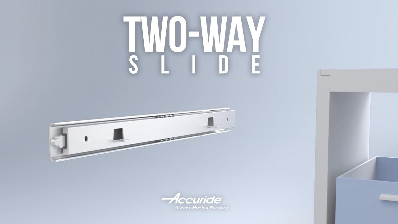 Accuride Drawer Slides Accuride 0363 2002 Two Way Travel Dual Access Drawer Slide