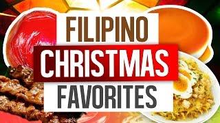 Filipino Favorite Christmas Foods