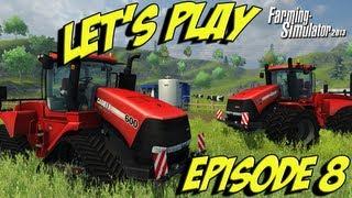 Farming Simulator 2013 - Ep8 - Happy New Year!!