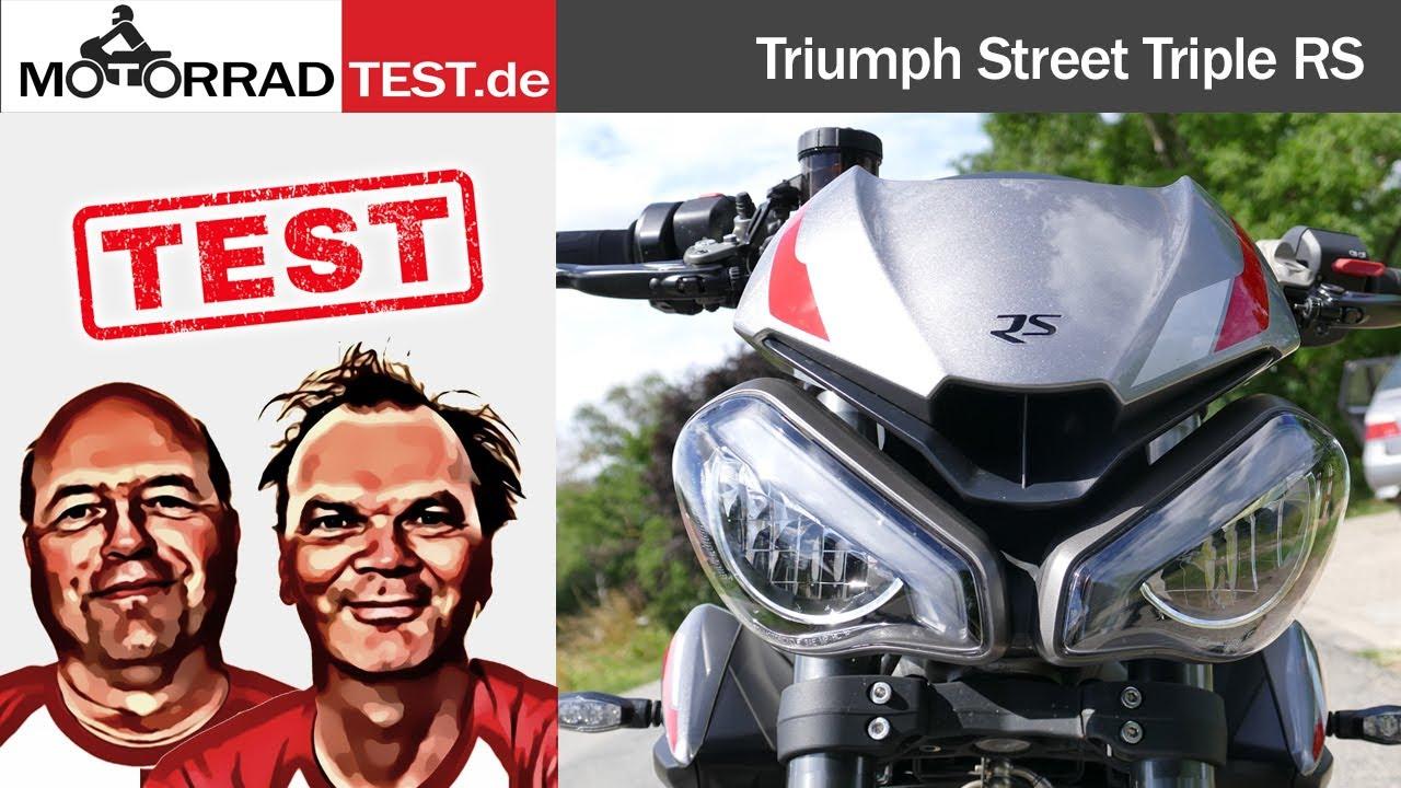 Triumph Street Triple RS | Test der leichten Mittelklasse-Rakete aus England
