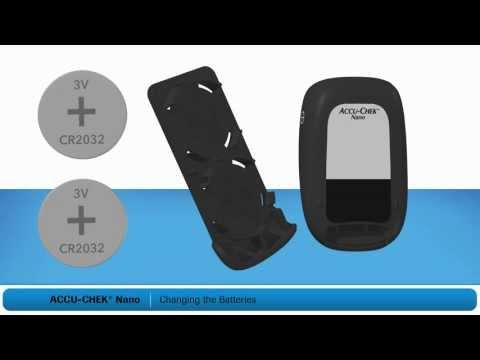 Changing Batteries: ACCU-CHEK Nano Blood Glucose Meter