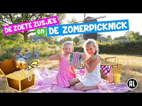 de-zoete-zusjes-en-de-zomer-picknick!-[opzoek-naar-de-schat]-♥dezoetezusjes♥
