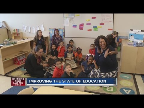 Education leaders visit preschools after Nevada receives poor performance grades