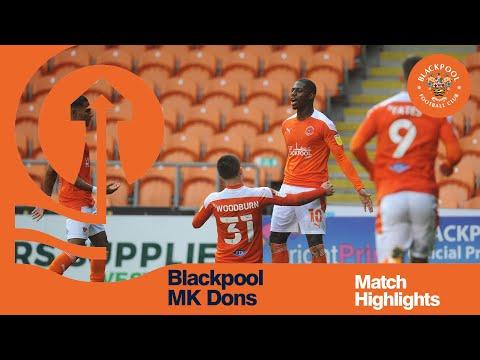 Blackpool Milton Keynes Goals And Highlights