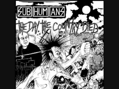 Subhumans - No