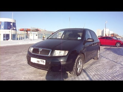 2006 Skoda Fabia. Start Up, Engine, and In Depth Tour.