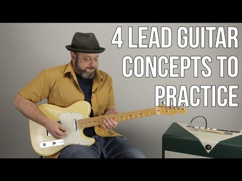 Lead Guitar  4 Techniques For Your Practice Routine