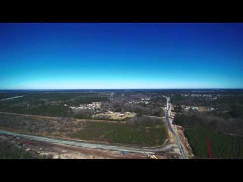 Highway 31 and 707 construction progress