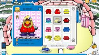 Club Penguin Clothing Codes for CPPS me