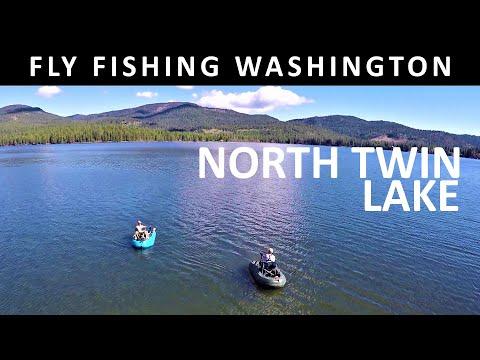 Fly Fishing Washington State: North Twin Lake Colville Reservation - Trailer Amazon Video Season 4