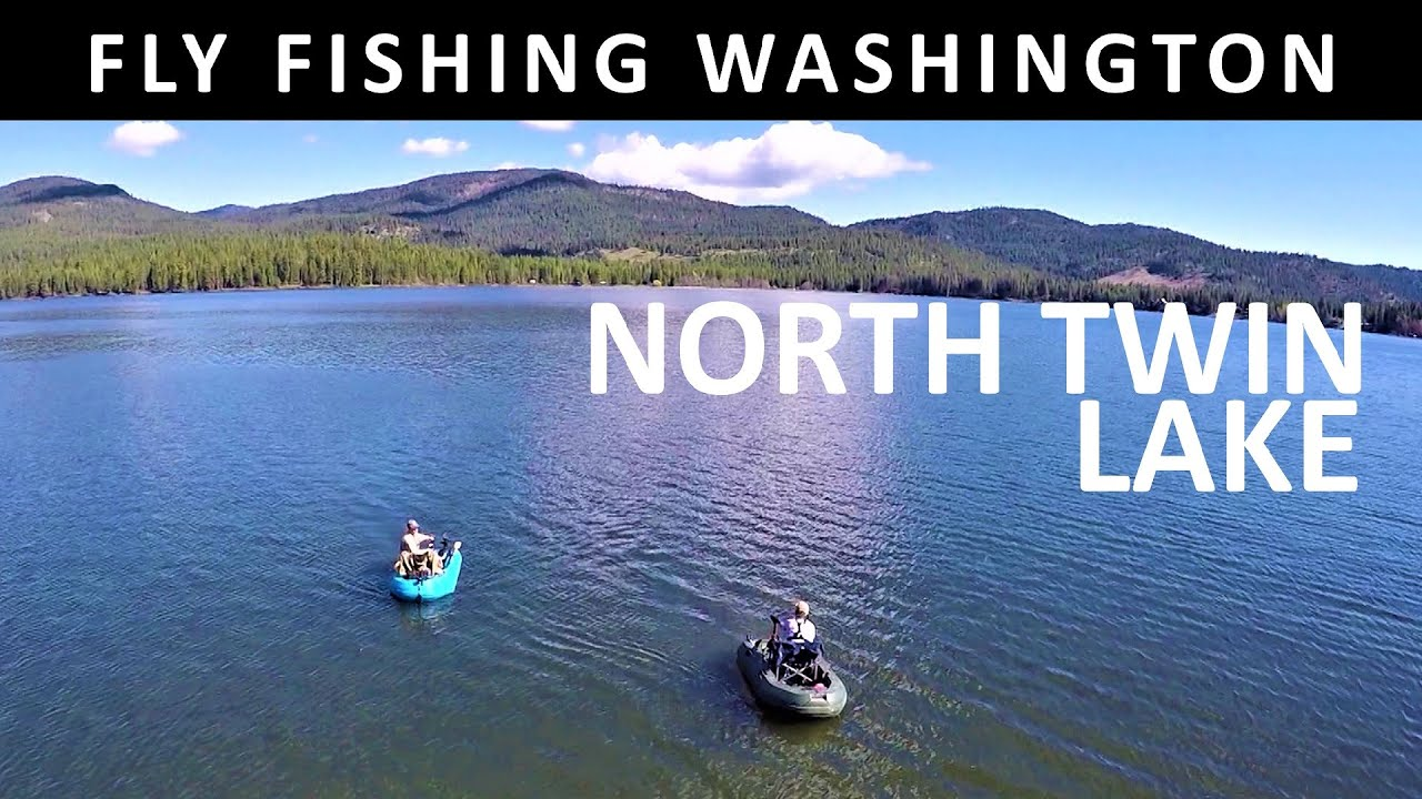 Fly fishing north twin lake colville reservation for Twin lakes fishing report