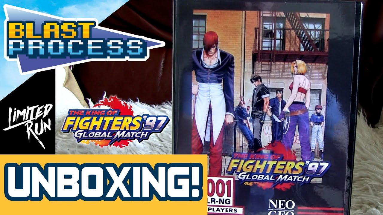 King Of Fighters 97 Global Match Ps4 Limited Run Unboxing