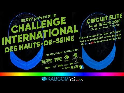 Challenge international des Hauts-de-Seine 2018 - Piste finale