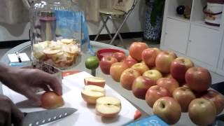 楊懷德老師/歐洲生物科技蔬果酵素/16年資歷[蘋果]釀造教學示範[上集][歡迎預約免費試飲]