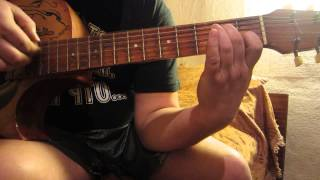 разбор грустной мелодии на гитаре часть 1(для начинающих гитаристов)