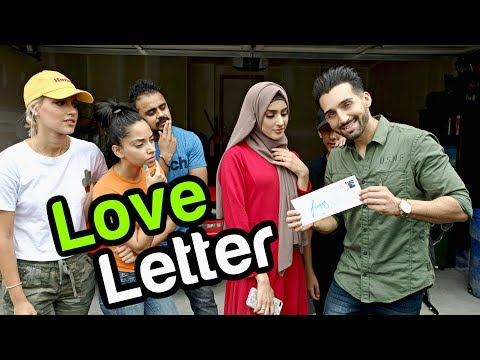 My First Love Letter...