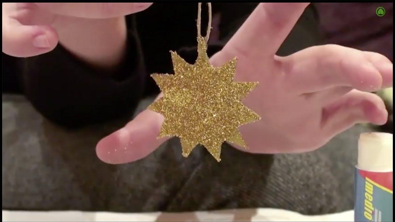 Como Hacer Estrellas De Navidad Con Carton Adornos De Navidad - Adornos-de-navidad-reciclados-como-hacerlos