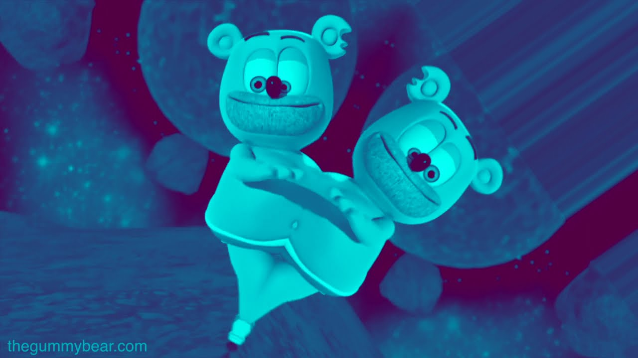 BLUE & PRUPLE & RANDOMIRROR & ROBOT VOICE Gummibär REQ VIDOE Dame La GOMITA Gummy Bear Cover Song