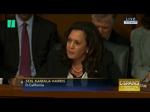 Sen. Kamala Harris Cut Off During Intelligence Hearing