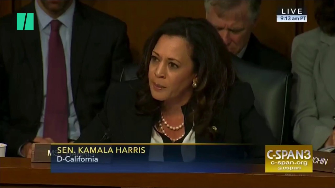 Sen. Kamala Harris Cut Off During Intelligence Hearing | Doovi