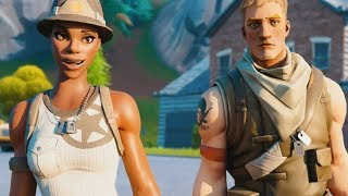 RECON EXPERT meets his BIGGEST FAN, but then THAT happened... (Fortnite)