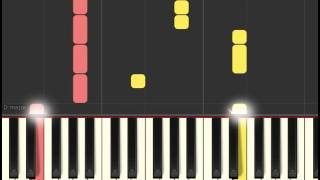Moana Soundtrack: We Know The Way (Piano sheet & Synthesia)