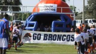 Davie Bronco Tackle Football and Cheer
