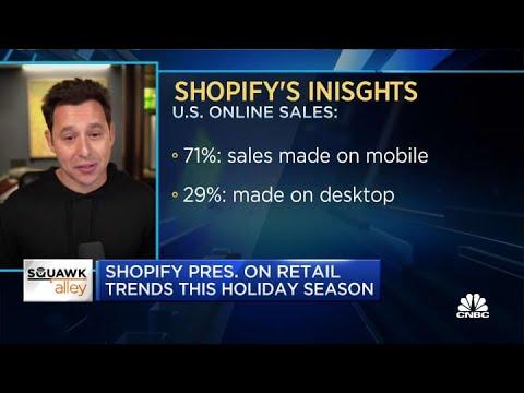 Shopify president on