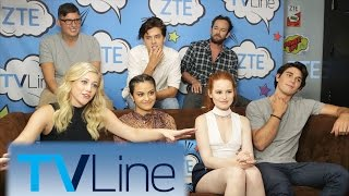 Riverdale Interview  | TVLine Studio Presented by ZTE | Comic-Con 2016