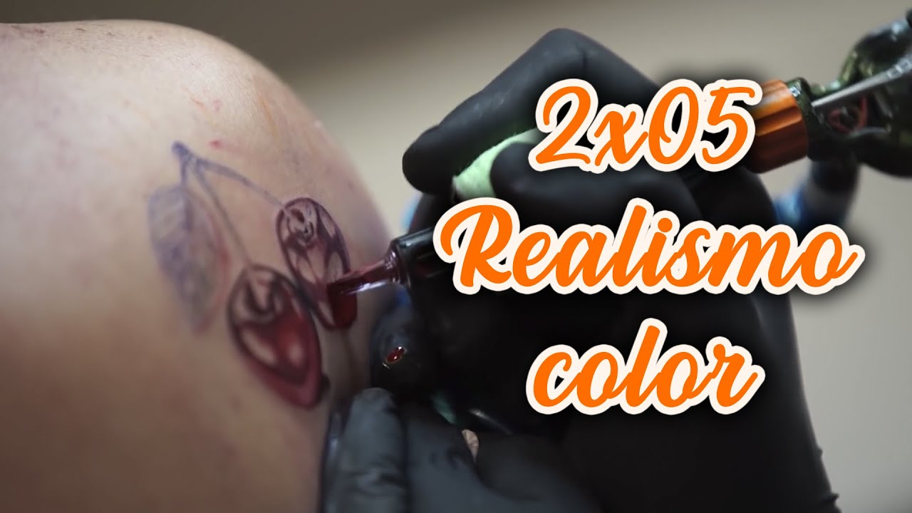 2x05 Tatuaje Realismo Color Color Realism Tattoo Youtube