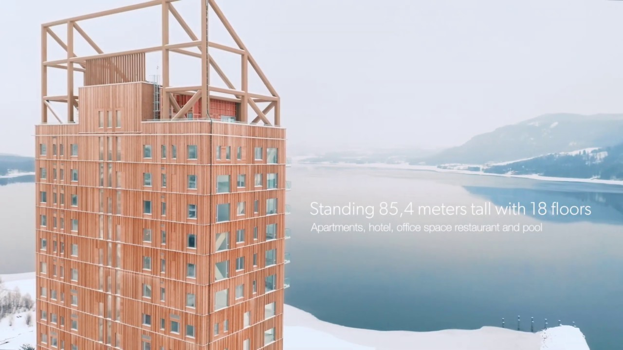 Mjøstårnet - The World's Tallest Timber Building