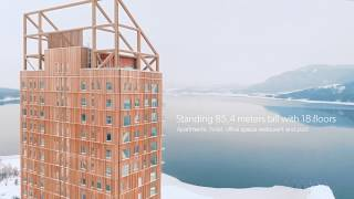 Mjøstårnet - The World's Tallest Timber Building