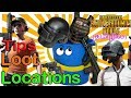 High loot Locations in PUBG Mobile - TAMIL (தமிழ் ) Top Locations for guns