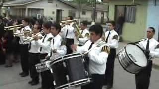 Himno nacional entonado  por la banda instrumental del ejercito evangelico de chile, cabrero