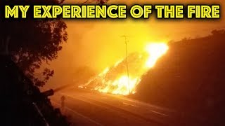 The Malibu Fire - or Why I haven't posted Videos for weeks...